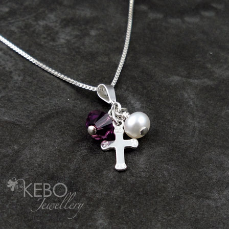 Cross My Heart Necklace - Made to Order