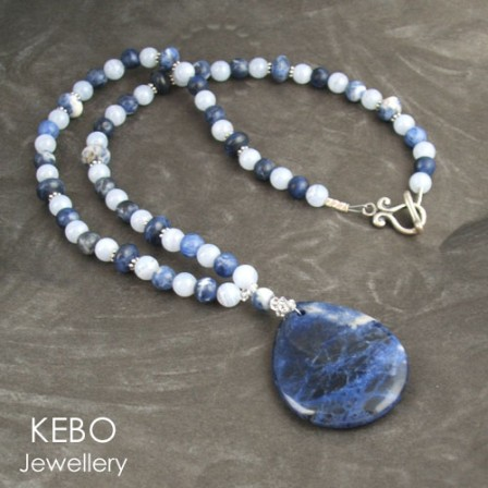 Denim Days Necklace