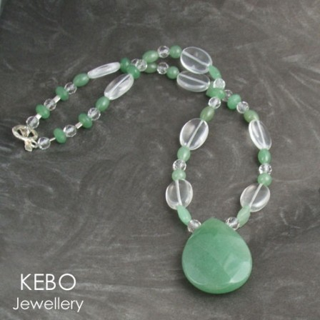 Goddess In Green Necklace