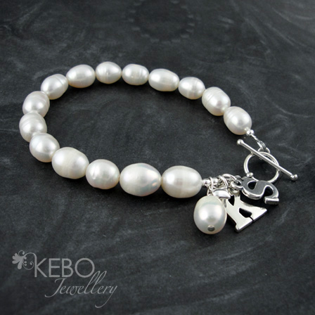 Initial Love Bracelet - Personalised & Made To Order