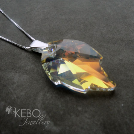 Leaf Necklace - Made to Order