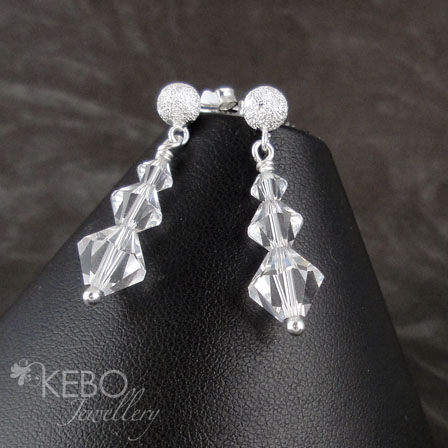 Trilogy Earrings - Made to Order